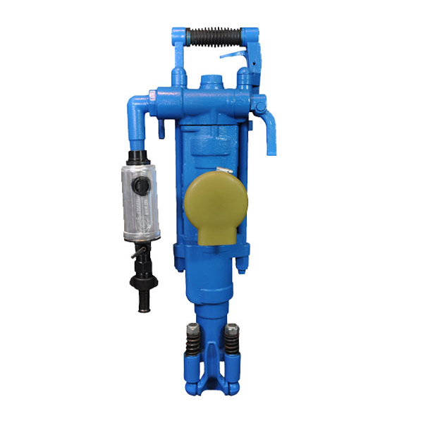 YT27 Pusher Leg Rock Drills for underground mining, tunnelling